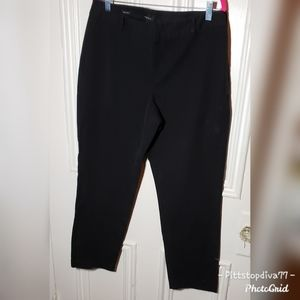 Talbots Heritage Black Pants with Side Zipper